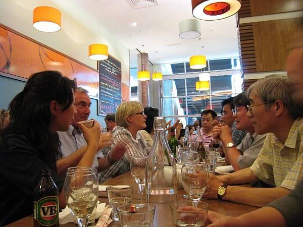 20090205與Peter Grabosky及其夫人於中國城餐館晚餐