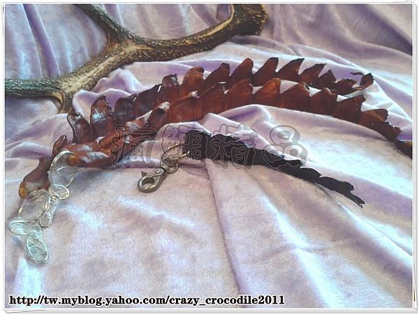 【品名】鱷魚背耆鑰匙圈