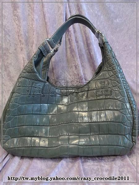 【品名】瘋鱷訂製款‥超軟手提包(灰) 『已售出』