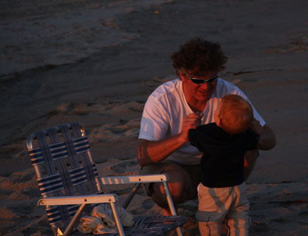 father & son on the beach.jpg