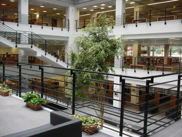 圖書館擴建部分