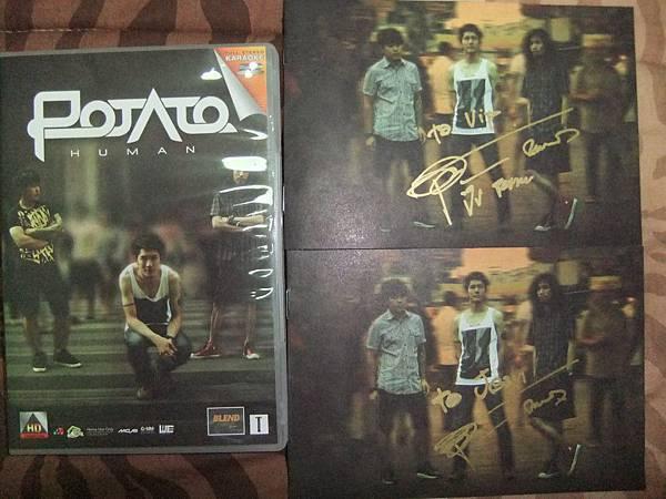 POTATO 簽名VCD