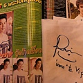 Mark Prin 雜誌內頁簽名