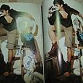 Toni 雜誌內頁簽名