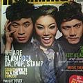 Stamp Da & Pup 雜誌封面簽名
