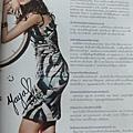 Yaya雜誌內頁簽名