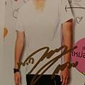 Dan簽名明信片