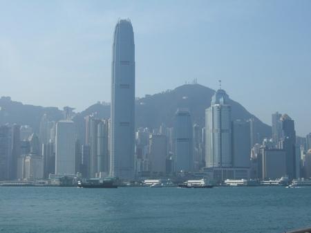 01.煙霧迷濛中永遠不會錯認的香港海景