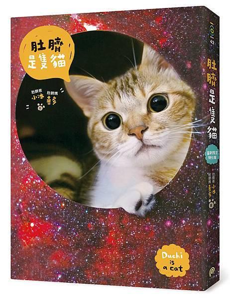 《肚臍是隻貓》【首刷限定特仕版】書盒立體示意