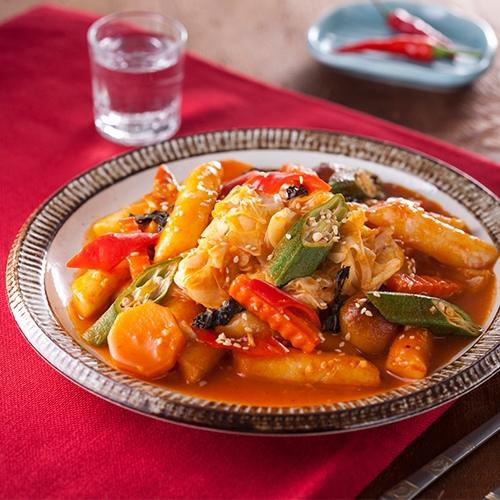 韓式春川辣炒雞排