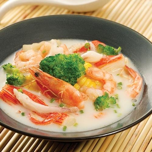 豆漿海鮮鍋