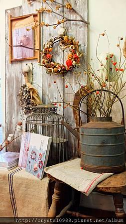 台北 乾燥花.綠色穀倉 [🎃萬聖南瓜🎃] 課程分享