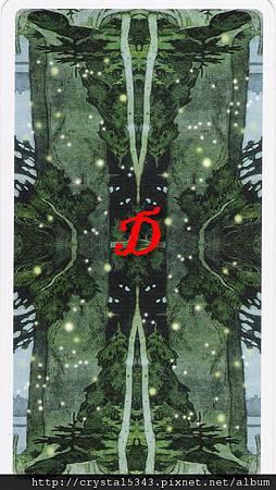 魔法森林牌背D