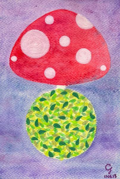 紅蘑菇星球@克里斯多插畫森林.jpg