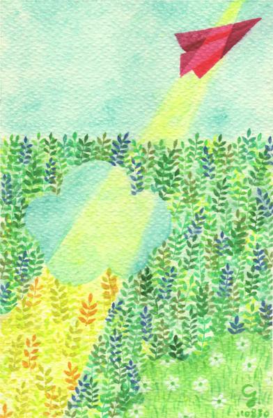 fly_b@克里斯多插畫森林