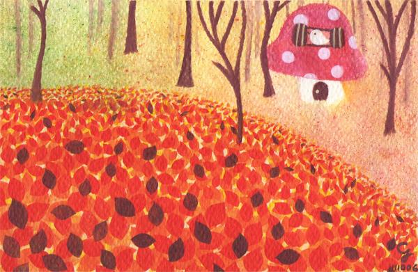 autumn_b@克里斯多插畫森林