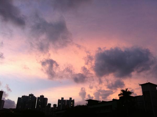 sunset_a@克里斯多插畫森林.JPG