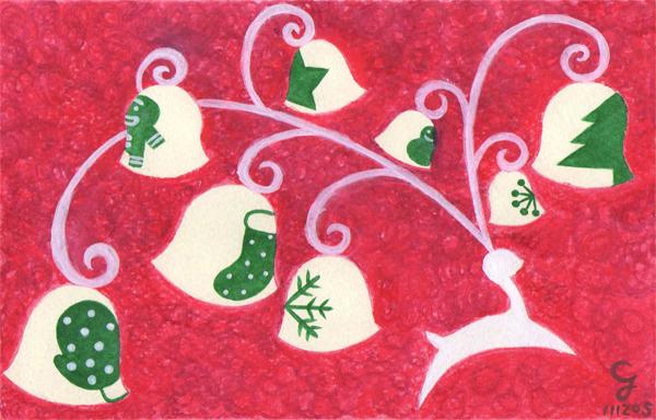 Merry_Christmas@克里斯多插畫森林