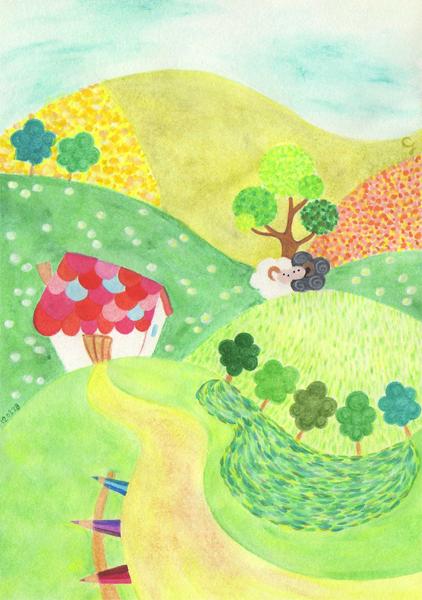 summer_h@克里斯多插畫森林