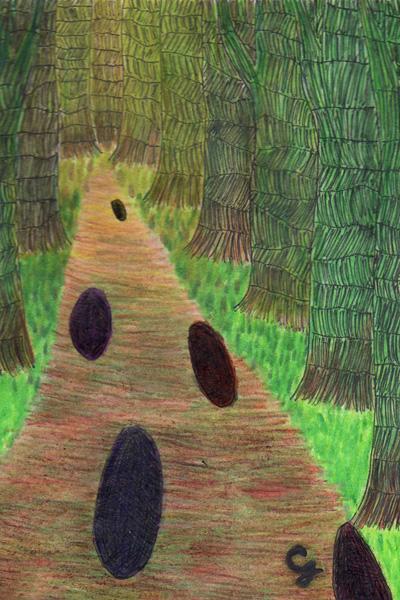 forest_b@克里斯多插畫森林