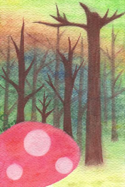 forest_d@克里斯多插畫森林