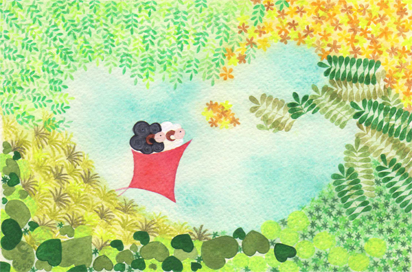 summer_i@克里斯多插畫森林