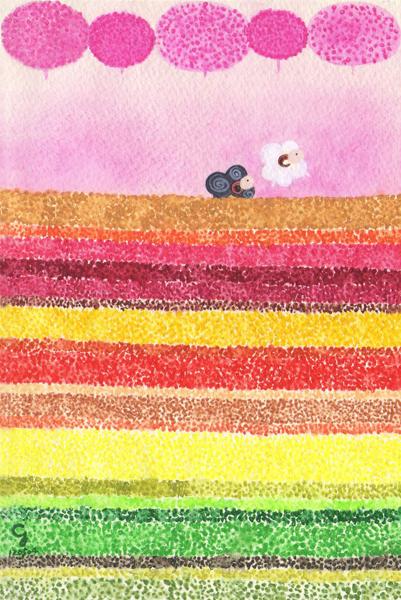 spring@克里斯多插畫森林