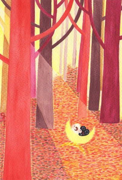 autumn_e@克里斯多插畫森林