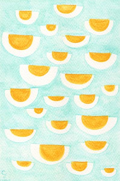egg@克里斯多插畫森林