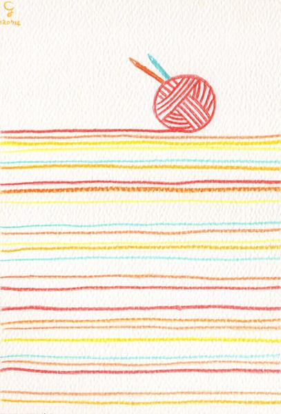 yarn@克里斯多插畫森林