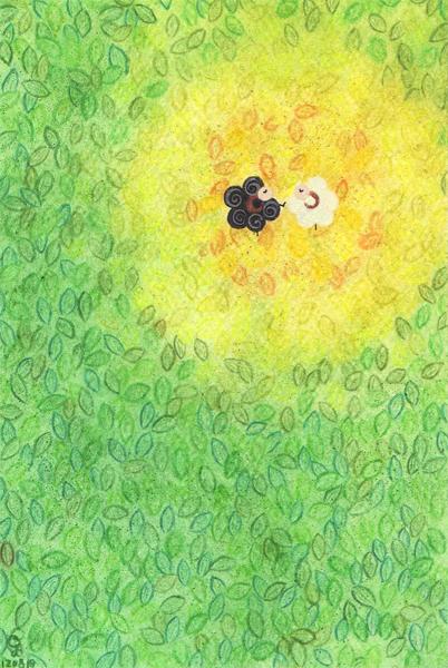leaf@克里斯多插畫森林