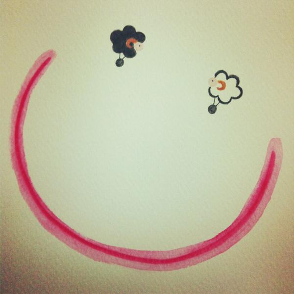 smile@克里斯多插畫森林