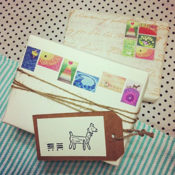 stickers_of_stamp_f@克里斯多插畫森林