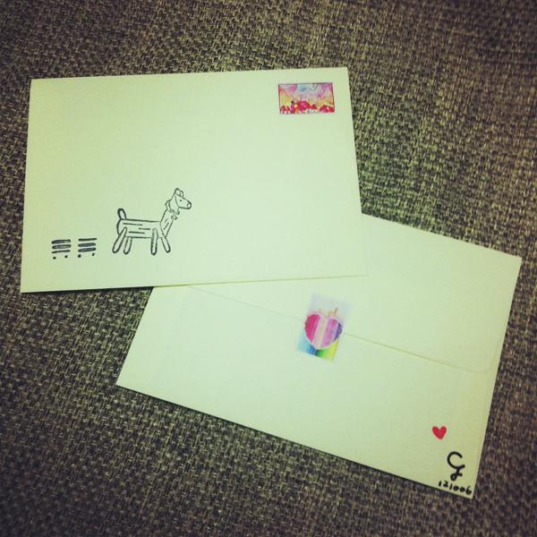 stickers_of_stamp_e@克里斯多插畫森林