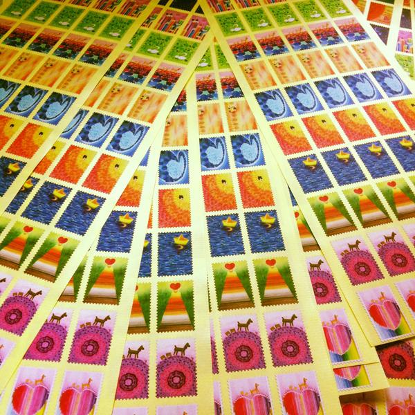 stickers_of_stamp_c@克里斯多插畫森林