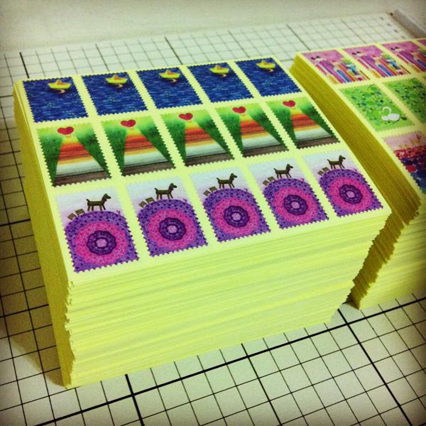 stickers_of_stamp_g@克里斯多插畫森林