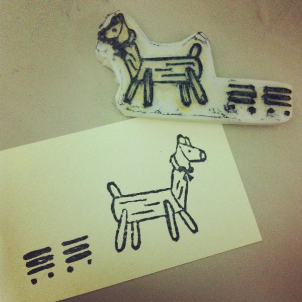 stickers_of_stamp_i@克里斯多插畫森林