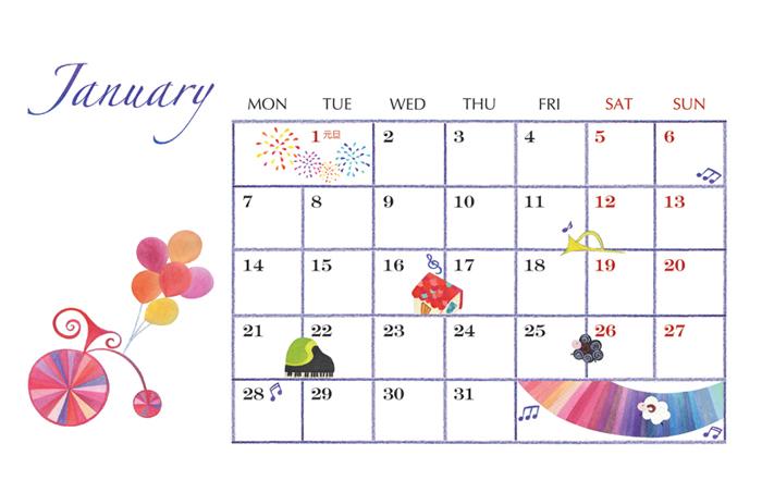 2013_calendar_h@克里斯多插畫森林