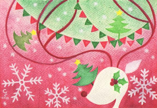 christmas@克里斯多插畫森林