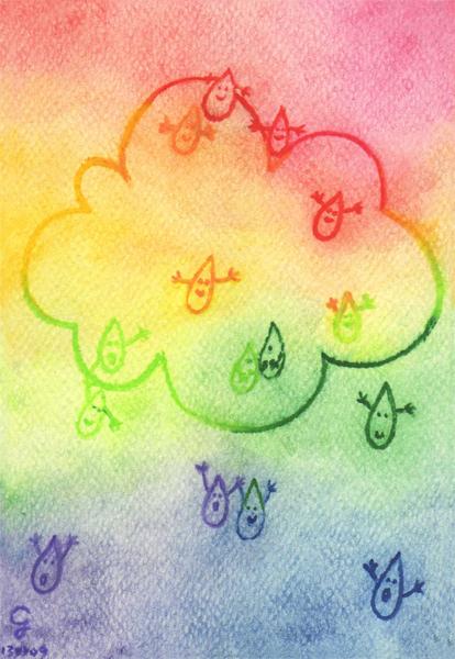 rainbow@克里斯多插畫森林