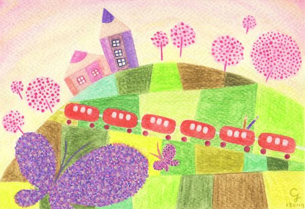 travel_in_spring_a@克里斯多插畫森林