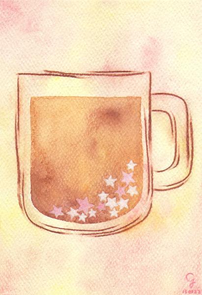 star_coffee@克里斯多插畫森林