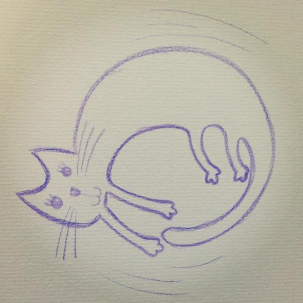 cat_a@克里斯多插畫森林