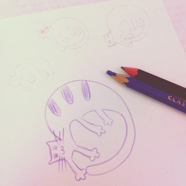 cat_b@克里斯多插畫森林
