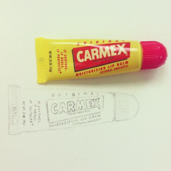 carmex_lip_balm_b@克里斯多插畫森林
