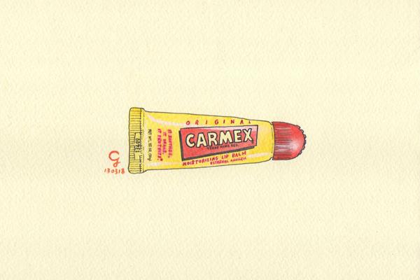 carmex_lip_balm_a@克里斯多插畫森林