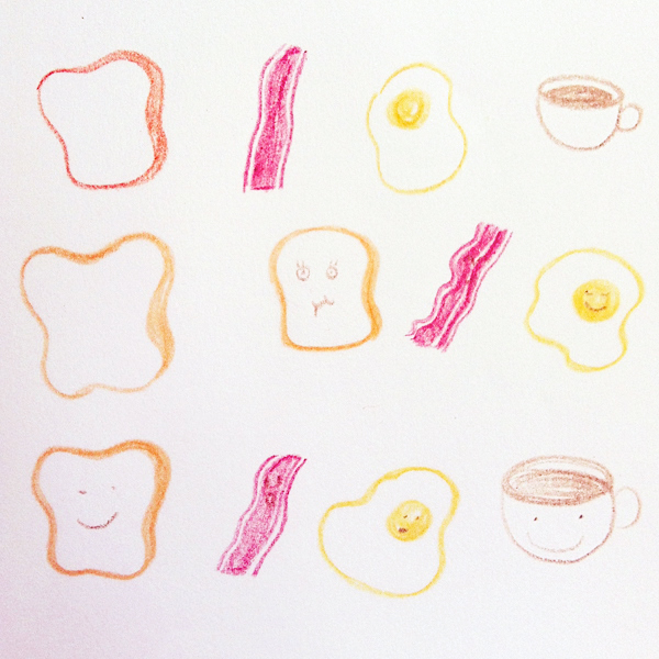 breakfast_c@克里斯多插畫森林