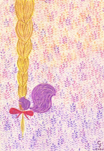 rapunzel@克里斯多插畫森林