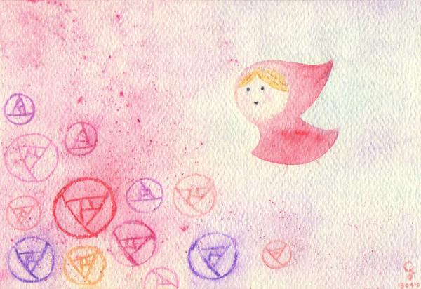little_red_riding_hood@克里斯多插畫森林
