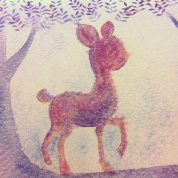 deer_c@克里斯多插畫森林